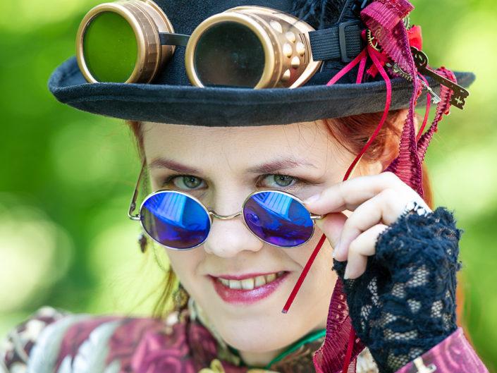 "Steampunkpicknick im ""Blühenden Barock"""